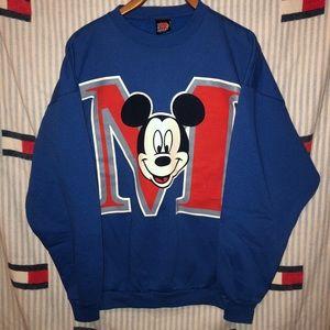 Vintage Mickey Mouse crewneck sweatshirt